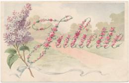 PRENOM - JULIETTE - Roses Et Lilas - Prénoms