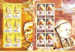 Republica Saharaui PRIVAT Pope John Paul II Blocks MNH - Altri - Asia