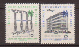 DDR , 1961 , Mi.Nr. 813 / 814 ** / MNH - [6] Repubblica Democratica