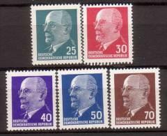 DDR , 1963 , Mi.Nr. 934 - 938 ** / MNH - [6] Repubblica Democratica
