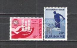 Suriname 1963 Organisationen Vereinte Nationen Welternährungsorganisation Ernährung Hunger UNO ONU FAO, Mi. 431-2 ** - Suriname