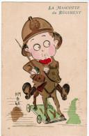 CPA, La Mascotte Du Régiment, H.M. B 48 (pk27533) - Humour