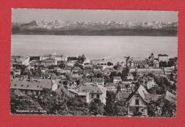 Neuchatel Et Les Alpes - NE Neuchâtel