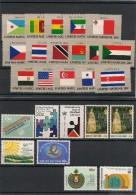 NATIONS UNIES NEW YORK Année Complète 1981 N° Y/T: 334/358** Côte: 26,60 € - New York -  VN Hauptquartier