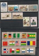 NATIONS UNIES NEW YORK Année Complète 1985 N° Y/T: 434/457** Côte: 46,45 € - New York -  VN Hauptquartier