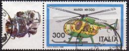 PIA - ITALIA - 1982 : Costruzioni Aeronautiche Italiane : Elicottero  NARDI NH 500.   - (SAS 1589) - Elicotteri