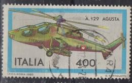 PIA - ITALIA - 1983 : Costruzioni Aeronautiche Italiane : Elicottero  A 129 AGUSTA.   - (SAS 1633) - Elicotteri