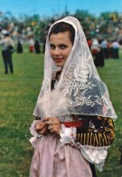 Costumi Sardi - Costume Di Cossoine (Sassari) - Italia
