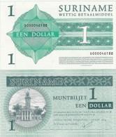 Suriname - 1 Dollar 2004 UNC Lemberg-Zp - Surinam