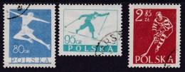 POLAND 1953 Fi 696-98 Used - 1944-.... República