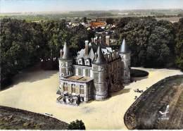 77 - EVRY LES CHATEAUX : Le Chateau - CPSM Dentelée Colorisée GF - Seine Et Marne - Other Municipalities