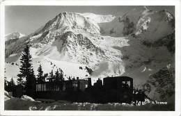 -depts Div - Ref: DD695- Haute Savoie - Chemin De Fer Du Col De La Voza - Train - Carte Bon Etat - - Otros Municipios