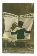 "Kinderen Met Krant "" Communiqué Officiel "" - Patriottiche"