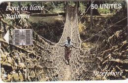 GUINEA - Rope Bridge(50 Units), Used - Guinee