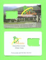 BHUTAN - SIM Frame Phonecard As Scan - Bhutan