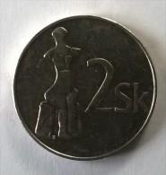 Monnaie - Slovénie - 2 Sk 1993 - Superbe +++ - - Slovénie