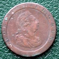 Georgius III D :G . Rex - Britannia - 1797 - 1662-1816 : Anciennes Frappes Fin XVII° - Début XIX° S.