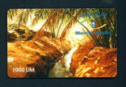 MAURITANIA - Remote Phonecard (stock Scan) - Mauritania