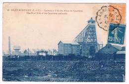 Billy-Montigny, La Fosse N° 2 Bis Des Mines De Courrières - Circulée - 2 Scans - Lens