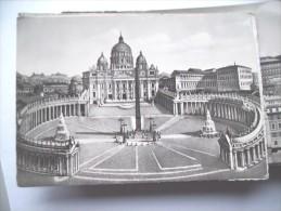 Vaticaan Vaticano Piazza E Basilica - Vaticaanstad