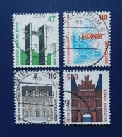 BRD - 1997,1998 - Mi: 1932,1935,1938,2009 - O - BRD