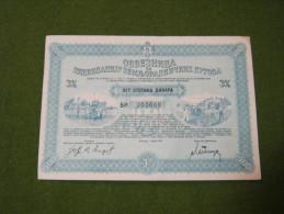 1937. Agriculture Tracteur Stocks Tractor Actie - Tracteurs