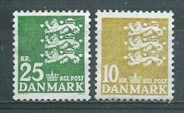 DANEMARK  Yvert   N° 410 Et 628  Neufs Sans Gomme - Nuovi