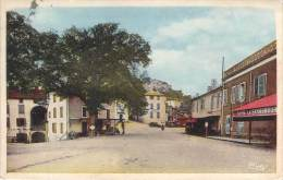 81 - Cordes - Place De La Bouteillerie (colorisée) - Cordes