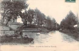 84 - Pertuis - La Prise Du Canal De Marseille - Pertuis