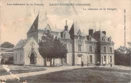 85 - Saint-Florent-des-Bois - Le Château De La Vergne (foins) (cachet Perlé 1907) - Saint Florent Des Bois