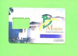 BHUTAN - SIM Frame Phonecard As Scan - Bhoutan