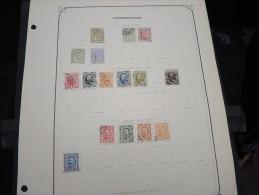 LUXEMBOURG - Petite Collection Montée Sur Feuille D´album - A Voir - Lot N° 10533 - Luxembourg