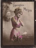 CHROMO CIGARETTE MELIA PORTRAIT DE FEMME - Melia
