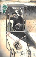 [DC2453] CARTOLINA - AVIAZIONE - AEREO - Viaggiata - Old Postcard - ....-1914: Precursori