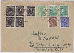 All.Bes., 10fach, Bf. Berlin SW11/6.7.48 - Gemeinschaftsausgaben