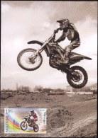 "Moldova 2015 "" Morocross "" Maximum Card. Quality 100% - Motorbikes"