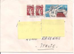 COMMEMORATIVI SU BUSTA VIAGGIATA 1978,FRANCIA - RAVENNA, ITALIA - France