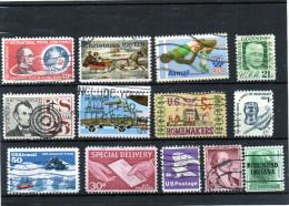 Stati Uniti - N.13 Usati Differenti - Collezioni & Lotti