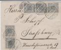 Allemagne - Lettre - 1900 - Michel 52 - Cachet HAGENAU Est Une Sous-préfecture Française Du Rhin Supérieur - Brrrr