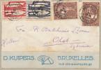 054/24 -  Lettre 4 X TP Orval BRUXELLES 1928 Vers OLST Holland - TARIF PREFERENTIEL NL EXACT 1 F 50 - Belgium