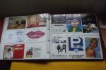 Album  135 Cartes Publicitaire Années 1990 - 100 - 499 Karten