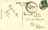 055/24 -  Carte- Vue TP Mercure Oblitéré Paquebot LIVERPOOL 1934 - Cachet Croisières Paq. Léopoldville (Ligne Du Congo) - 1932 Cérès Et Mercure