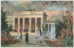 BERLIN  BRANDENBURGER THOR - 1910s TUCK'S POSTCARD - Germany - Ohne Zuordnung