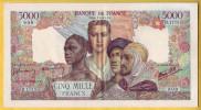 BILLET FRANCAIS - 5000 Francs Empire Français 6.12.1945 SUP+ - 1871-1952 Anciens Francs Circulés Au XXème
