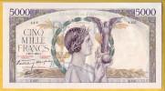 BILLET FRANCAIS - 5000 Francs Victoire 20.7.1939 SPL - 1871-1952 Anciens Francs Circulés Au XXème