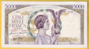 BILLET FRANCAIS - 5000 Francs Victoire 13.11.1941 SUP - 1871-1952 Anciens Francs Circulés Au XXème