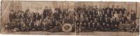 Photo 1900 Un Groupe De Voyageurs Avec La Bouée Du Paquebot RMS BERENGARIA - CUNARD LINE (A129) - Steamers