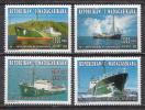 Madagascar MNH Ships Set - Ships