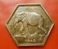 Congo Belgian 2 Francs 1943 High Grade - Congo (Belge) & Ruanda-Urundi
