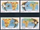 Ciskei - Oiseaux Migrateurs 61/64 ** - Passereaux